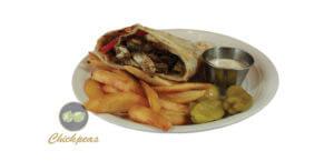 Beef Shawarma Wrap 3