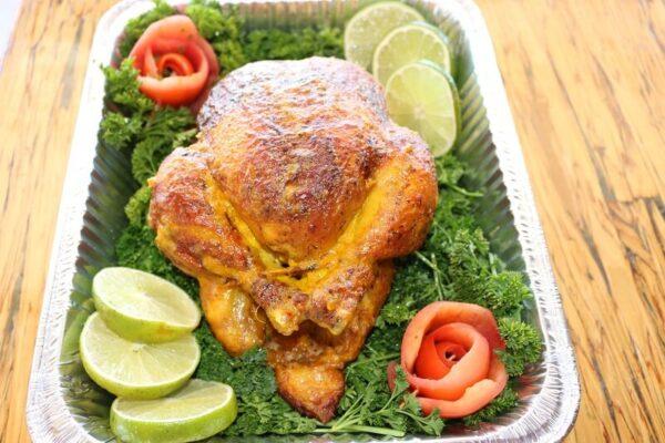 Mediterranean Rotisserie Whole Chicken 1