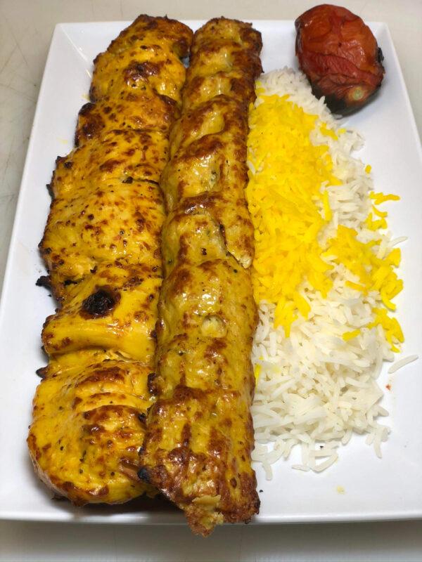 Chicken Soltani Kabob 1